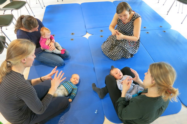 Default babysang p  sentralen