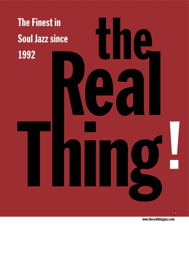 Default the real thing plakat