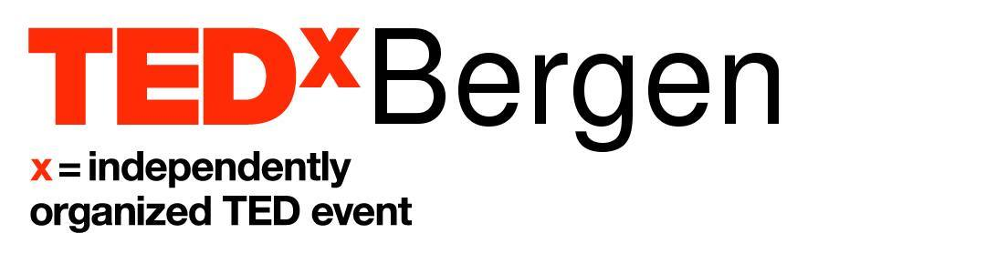 Tedxbergen black logo