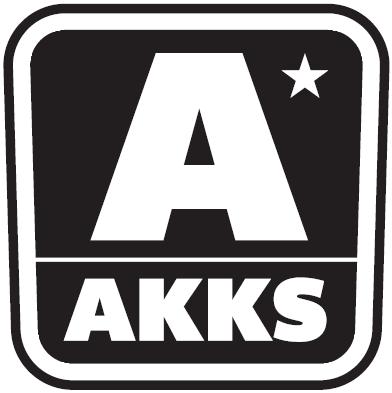 Akks logo sort