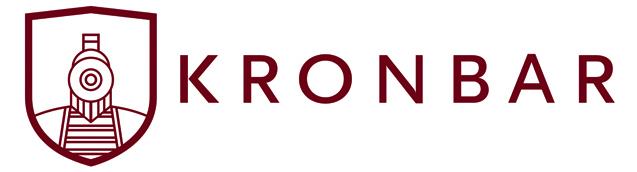 Kronbar logo slider front