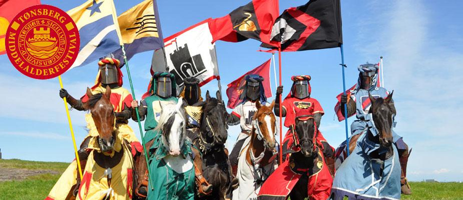 Bilde linket fra Tønsberg Middelalderfestivals Facebookside